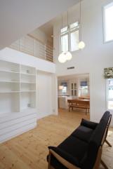 北欧デザインの輸入住宅の大空間設計