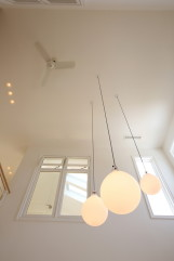 北欧デザインの輸入住宅の天井高