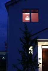 北欧デザインの輸入住宅の外観