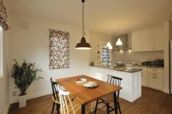 北欧デザインの輸入住宅